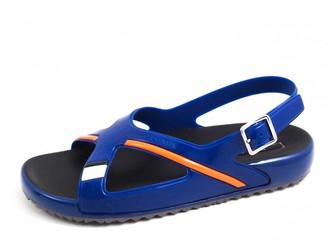 Prada Blue Plastic Sandals