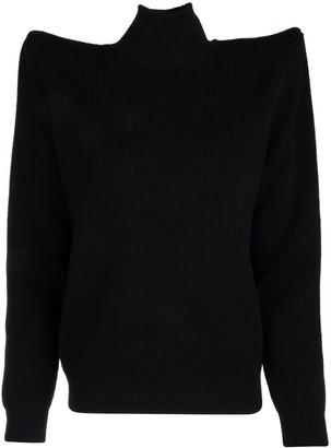 Balenciaga Oversized Shoulder Pads Sweater