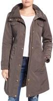 Ellen Tracy Water Repellent Hooded Jacket