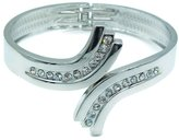 Chloé Love Encounter Silver Plated Hinged Versatile Bangle Bracelet (Infinity)