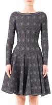 Azzedine Alaia Mouchette spot-print dress