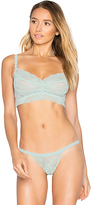 Cosabella Never Say Never Sweetie Soft Bra in Green