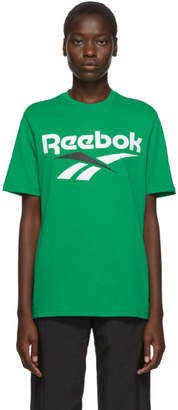 Vector Reebok Classics Green and White T-Shirt