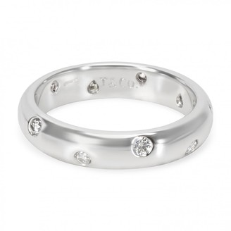 Tiffany & Co. Silver Platinum Rings