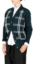 Miu Miu Women's Green Wool Cardigan.