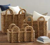 Pottery Barn Beachcomber Rectangular Handled Baskets