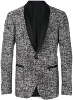 Pal Zileri tweed tuxedo jacket - men - Silk/Cotton/Cupro - 46