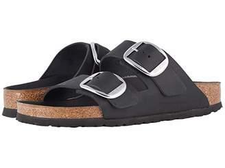 Birkenstock Arizona Big Buckle (Black Leather) Women's Sandals