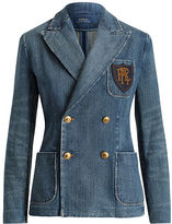 Polo Ralph Lauren Double-Breasted Denim Blazer