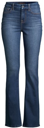 Jen7 By 7 For All Mankind Slim Bootcut Sculpting Jeans