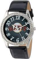 Game Time Women's MLB-GLI-SF Glitz Classic Analog San Francisco Giants Watch