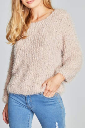 POL Mauve Alpaca Sweater