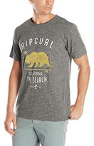 Rip Curl Men's Bear Cave Tri Blend T-Shirt