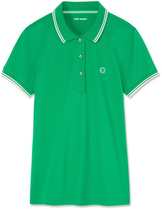 Tory Burch Performance Pique Polo