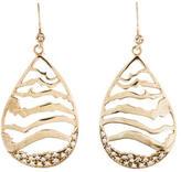 Melinda Maria Wavy Drop Earrings