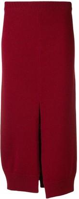 MRZ front split skirt