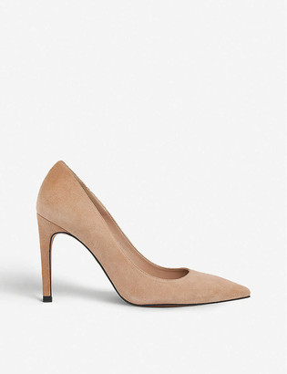 Whistles Cornel pointed-toe suede courts
