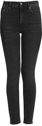 Acne Studios High-Rise Five-Pocket Skinny Jeans