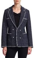 Edward Achour Pearl Button Jacket