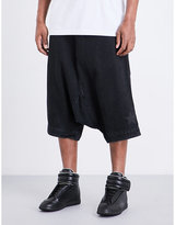 Ueg Mid-rise Stretch-cotton Shorts
