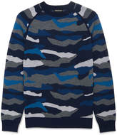 Whistles Camouflage-Pattern Sweater
