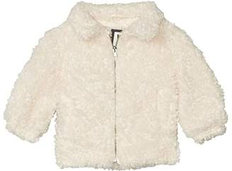 Cotton On Tash Teddy Slouch Jacket (Little Kids) (Cream) Girl's Clothing