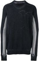 11 By Boris Bidjan Saberi '11' print sweatshirt