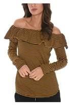 Cycle Women's Beige/brown Cotton Top.
