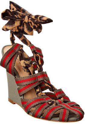 Schutz Aurea Wedge Sandal