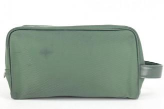 Louis Vuitton Green Polyester Clutch bags