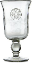 GG Collection G G Collection Medallion Water Goblets, Set of 4