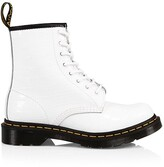 Thumbnail for your product : Dr. Martens 1460 Croc-Embossed Patent Leather Boots