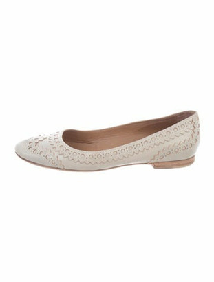 Hermes Leather Ballet Flats