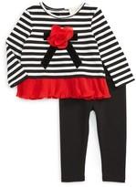 Kate Spade Infant Girl's Rosette Top & Leggings Set