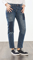 Esprit Stretchy jeans in a patchwork finish