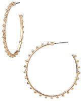 Anna & Ava Myra Studded Hoop Earrings