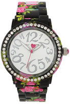 Betsey Johnson Betseys Holiday Falling For Floral Watch
