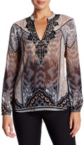 Hale Bob Embellished Tunic Blouse