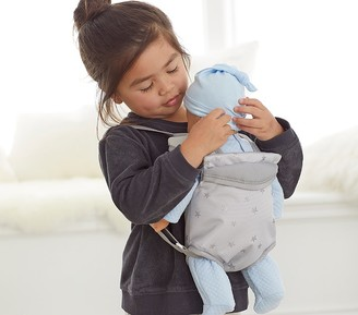 Pottery Barn Kids Gray Stars Baby Doll Carrier