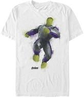 Fifth Sun Men's Tee Shirts WHITE - White Hulk Painted Crewneck Tee - Men