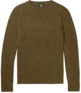 A.p.c. - Salford Mélange Wool Sweater