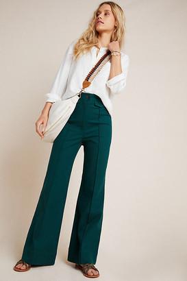 Anthropologie Jade Wide-Leg Pants By in Green Size 0