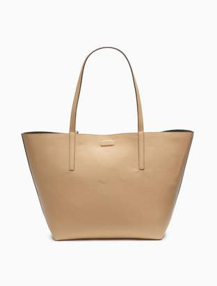 Calvin Klein Rachel Pebble Reversible Tote Bag + Zip Pouch