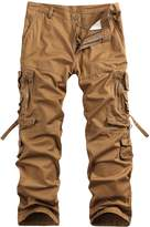Benibos Men's Cotton Casual Military Army Cargo Camo Combat Work Pants