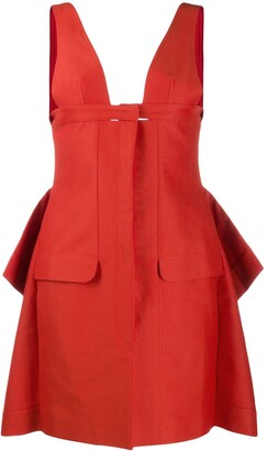 Jacquemus La Robe draped mini dress