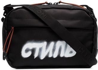 Heron Preston CTNMB crossbody camera bag