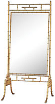 One Kings Lane Brunei Standing Mirror, Antiqued Gold