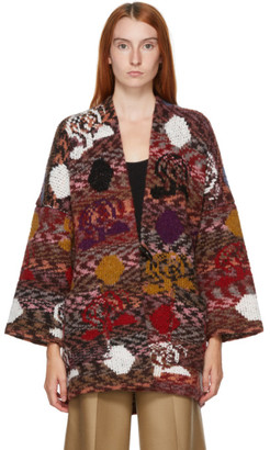 See by Chloe Multicolor Wool Cardigan
