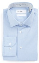 Men's Calibrate Trim Fit Textured Dress Shirt