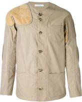 J.W.Anderson suede patch jacket - men - Cotton/Nappa Leather/Suede/Nylon - 48